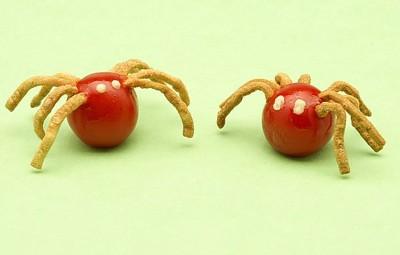 arañas tomate cherry