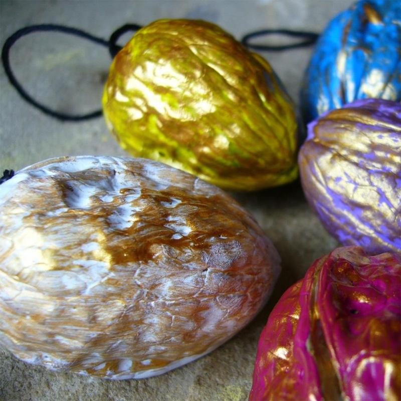 Manualidades de navidad - bolas de navidad