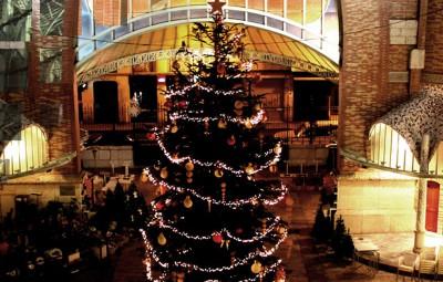 mercado colon arbol navidad