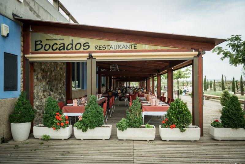 Balambamb restaurante bocados for Restaurantes modernos exterior