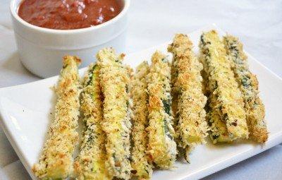 Zucchini Fries plate