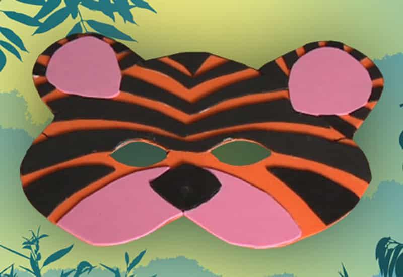 antifaz de tigre