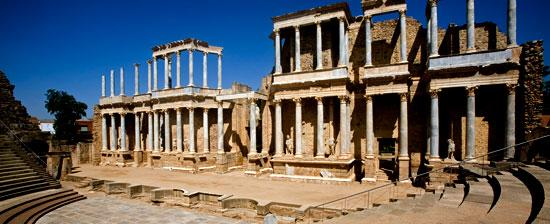 Baños Romanos Badajoz:continuación, se expone un elenco de esos elementos monumentales: