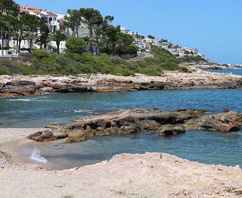 calas de la Comunidad Valenciana cala del moro