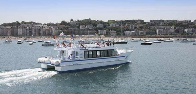 Catamarán Ciudad de San Sebastián