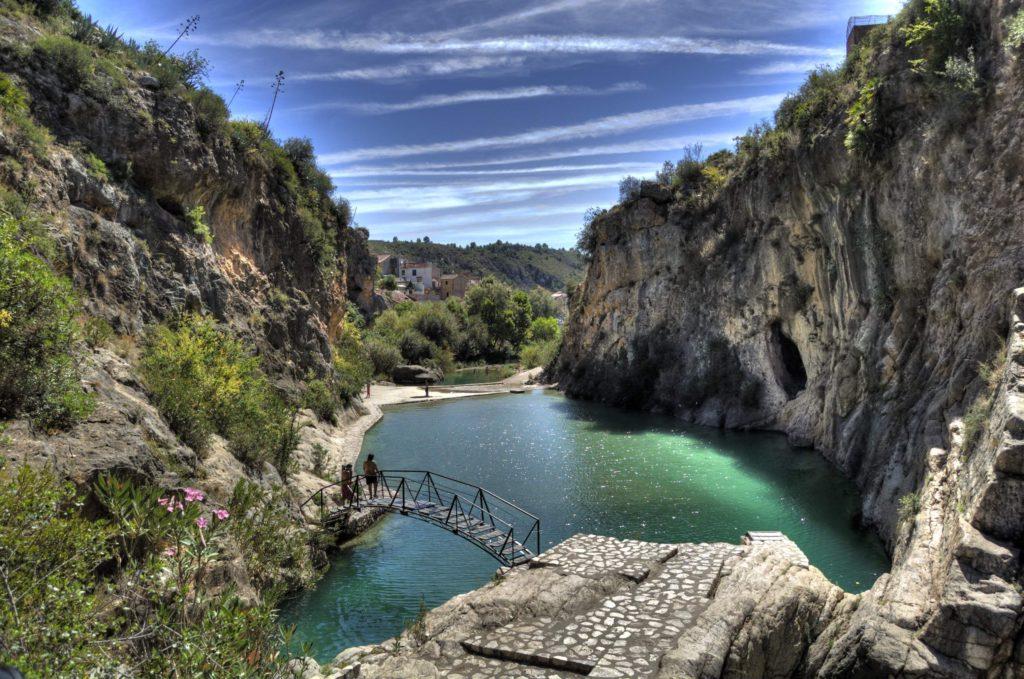 Piscinas naturales en la comunidad valenciana for Escapada rural piscinas naturales