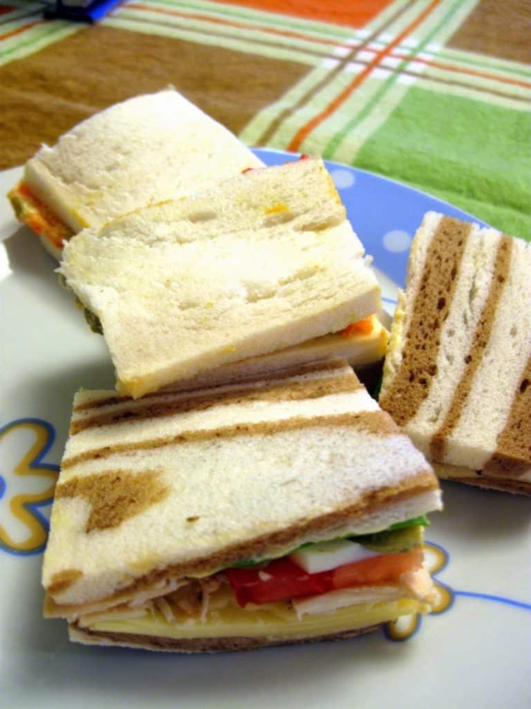 Recetas para un día de pic-nic sandwich