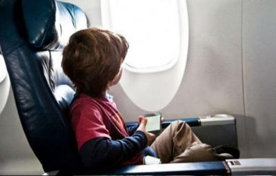viajar con niños en avion 1
