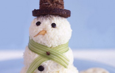 muñeco de nieve de queso portada