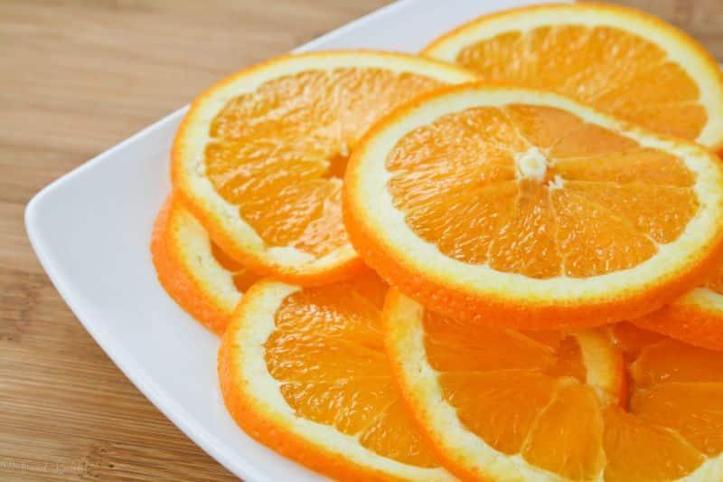 Bizcocho de miel y naranja