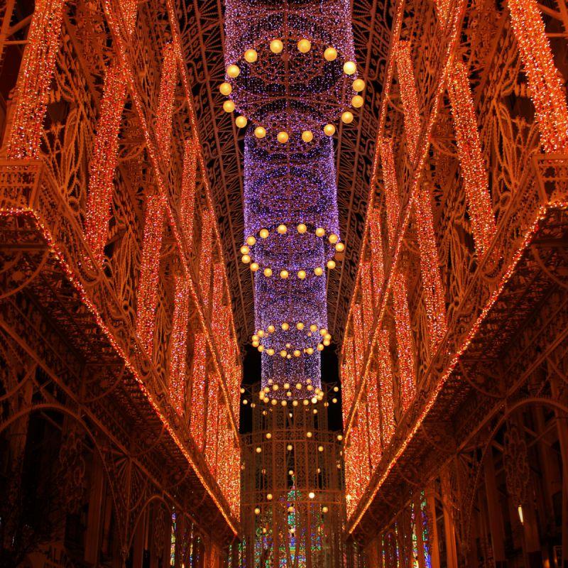 Luces de fallas - Encendido de luces en Fallas