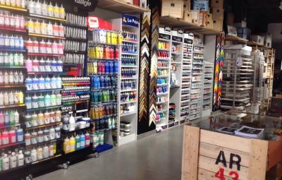 Tienda de arte y manualidades