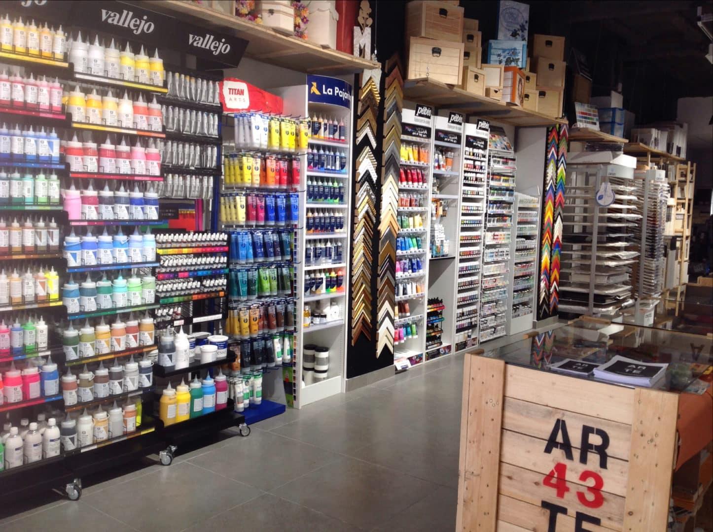 Arte 43 Tienda De Bellas Arte Y Manualidades En Valencia ~ Cursos De Manualidades En Valencia