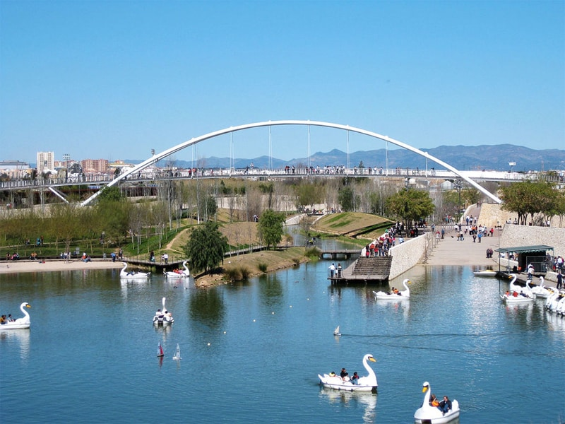 Cosas que hacer con niños en Valencia parque cabecera