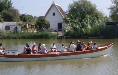 paseo barca albufera