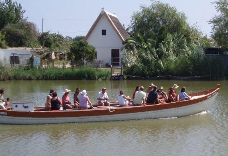 Cosas que hacer con niños en Valencia paseo barca albufera
