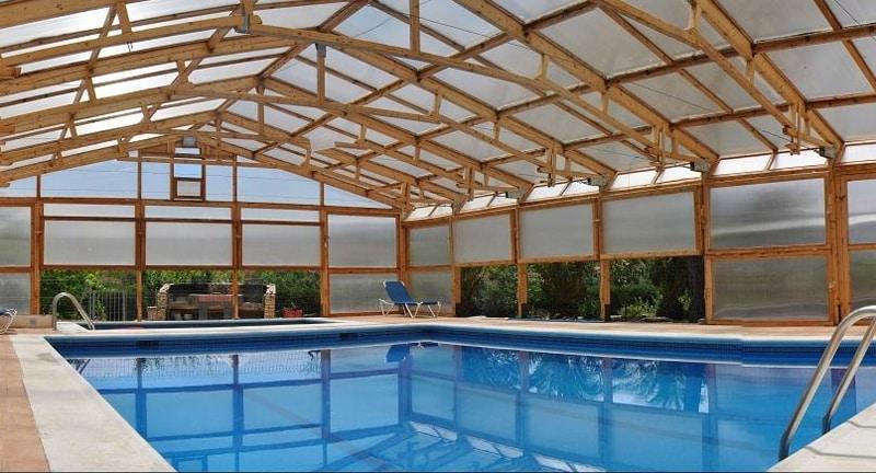 Casas rurales con piscina climatizada - Casa rural con piscina cubierta ...