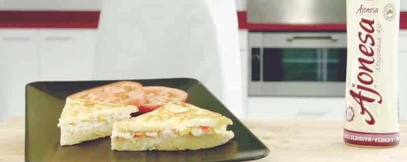 Recetas con salsas chovi-tortilla recetas salsas huevos camperos