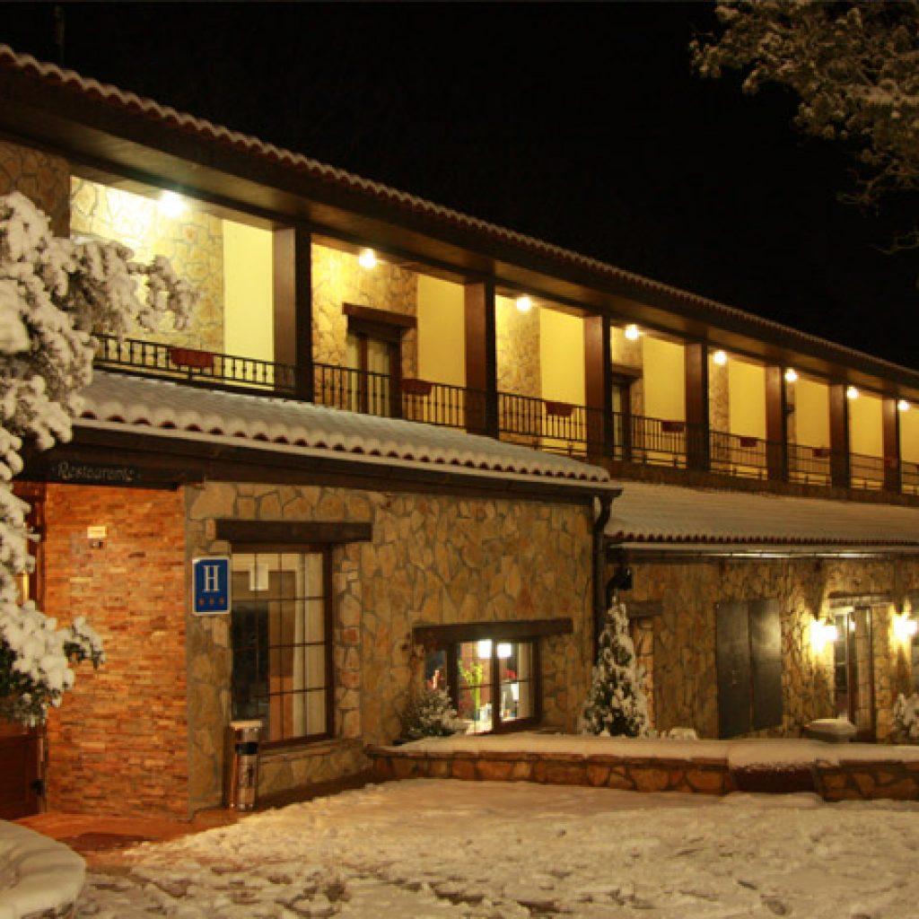 ver la nieve cerca de Valencia - Masia el Molinete