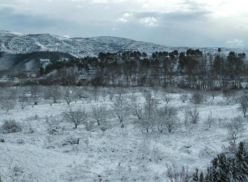 ver la nieve cerca de Valencia - rincón de Ademuz