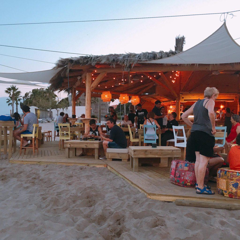 chiringuitos de playa - Benicassim