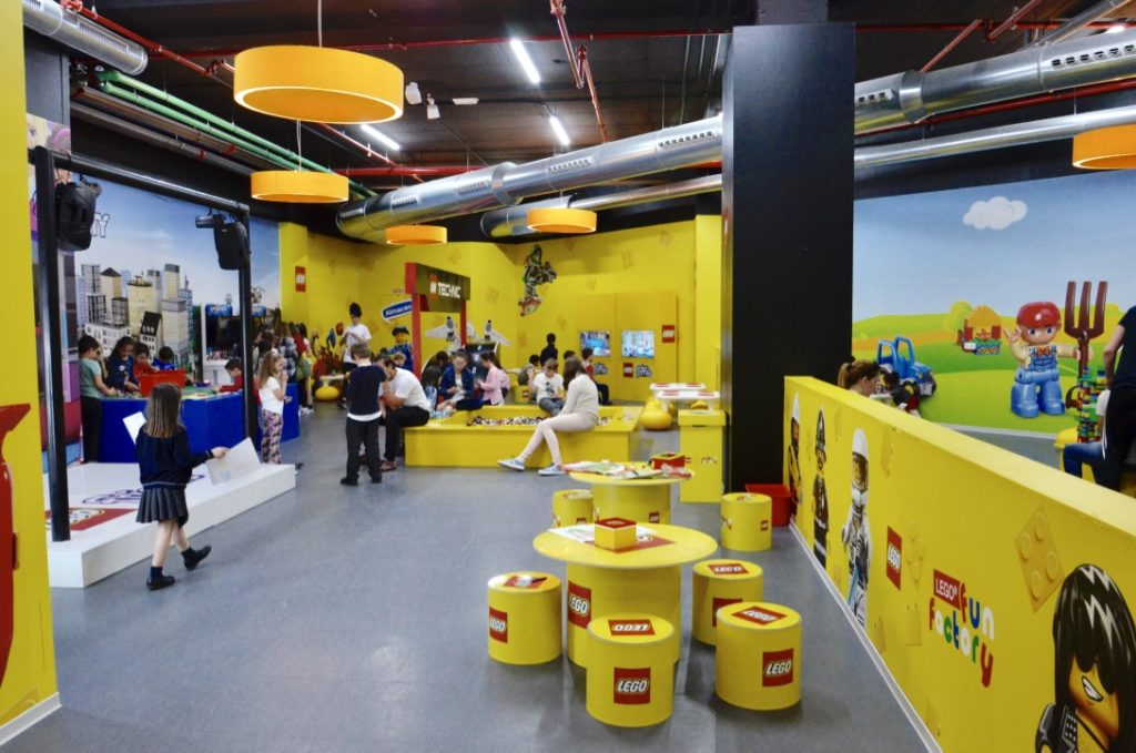 Espacio Actividades Lego Aqua Valencia