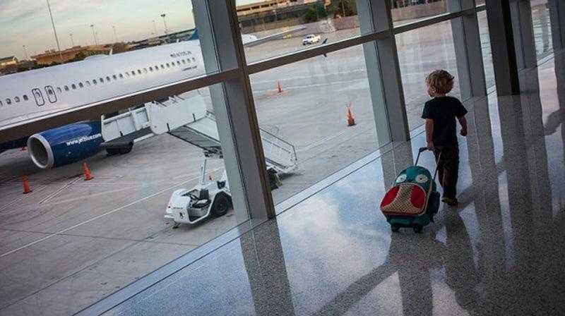 viajar con niños en avión - Viajar con niños fuera de España