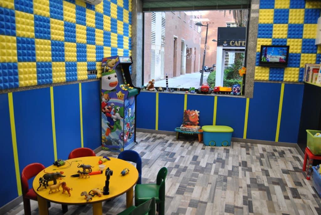 Nueva sala infantil en Don Pelayo