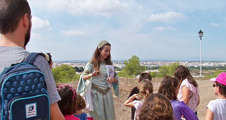 Visita guiada adaptada para niños en el Monasterio de Santa María del Puig