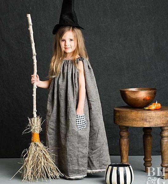 Noche de Halloween - Disfraz de bruja