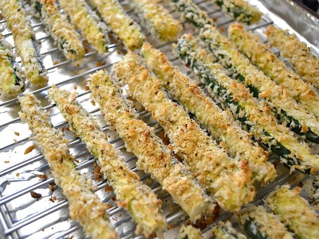7 baked zucchini