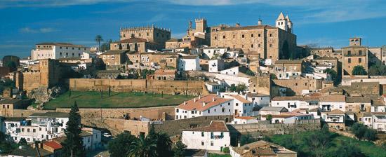 Patrimonio de la Humanidad en Extremadura
