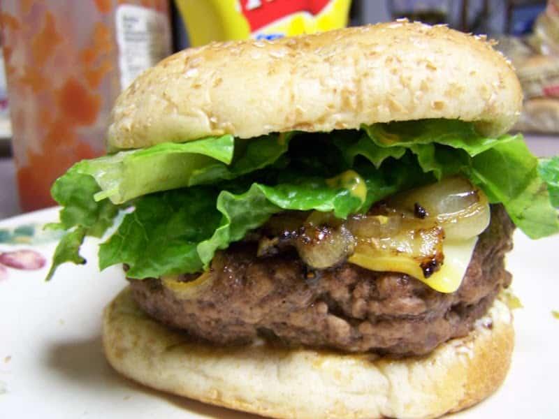 Recetas para un día de pic-nic hamburguesa