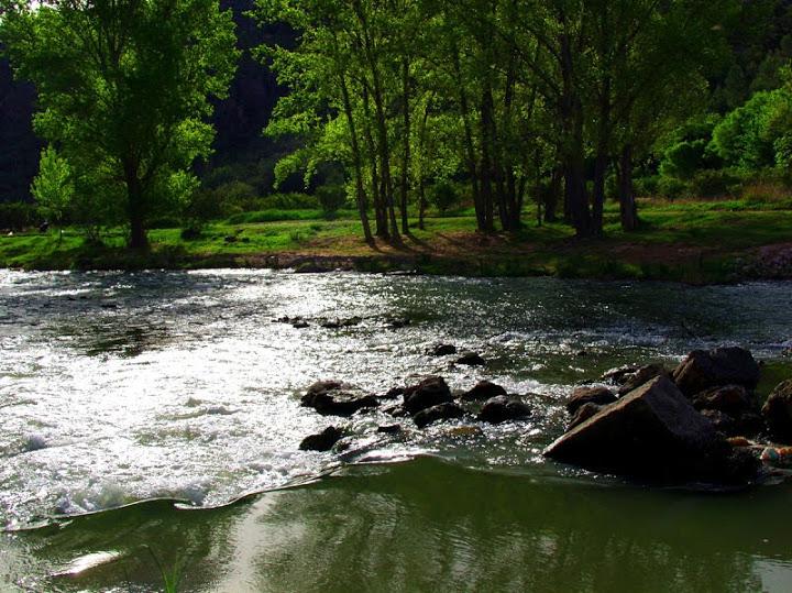 piscinas naturales en la Comunidad Valenciana Bugarra