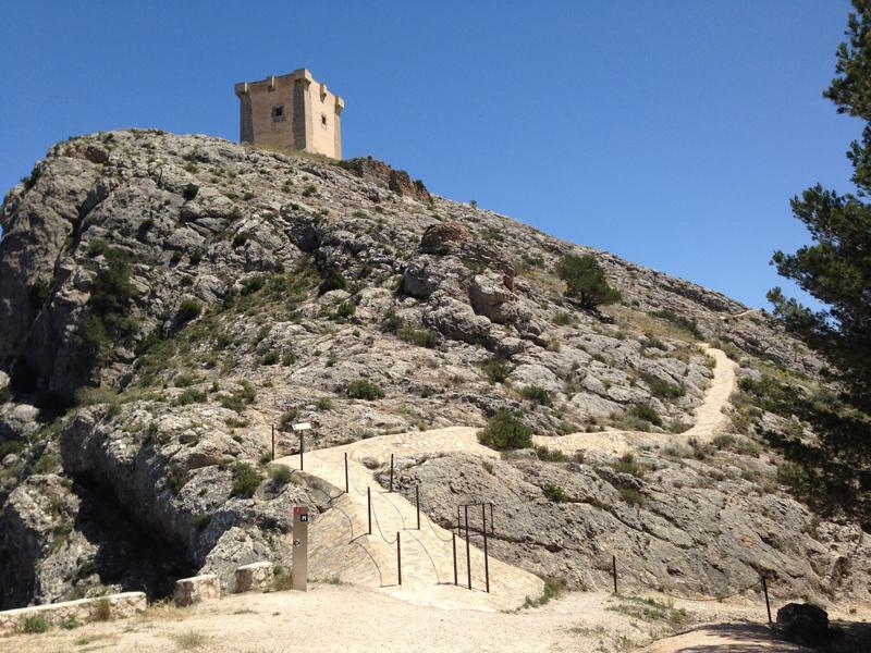 La ruta del Castillo de San Cristóbal en Cocentaina