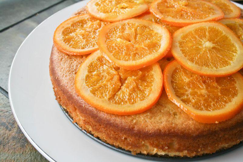 Bizcochos caseros y fáciles para hacer con niños - Bizcocho de miel y naranja