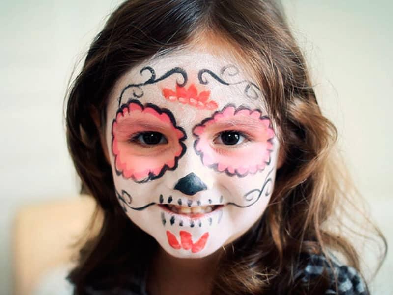Maquillaje de Halloween: calaveras mexicanas