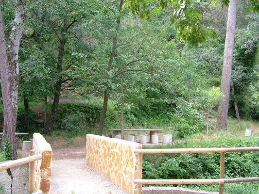 Fuente la Alameda - acceso