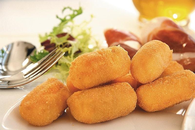 Recetas sin gluten para niños - croquetas de jamon