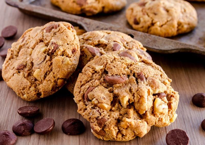 Recetas sin gluten para niños - galletas de chocolate