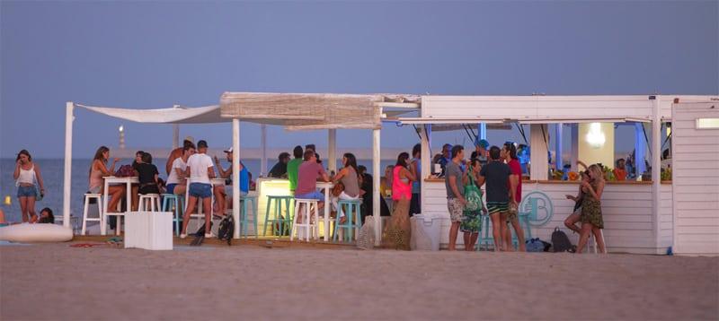 chiringuitos de playa - Valencia