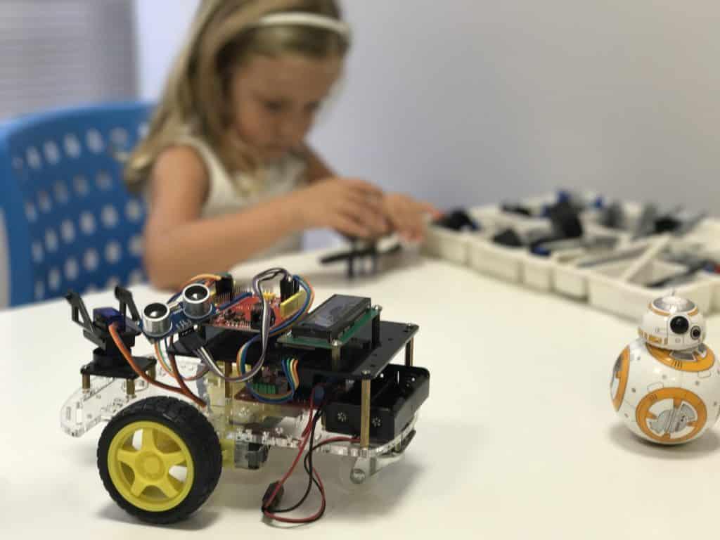robotica para niños en Codimonkey