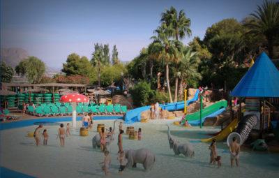 Parque acuático infantil Aqualandia