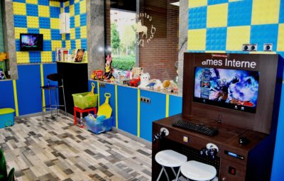 Sala para niños en Restaurante Don Pelayo