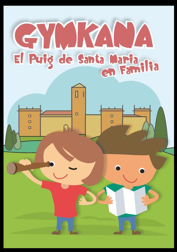Gymkana en El puig de Santa Maria - excursión familiar