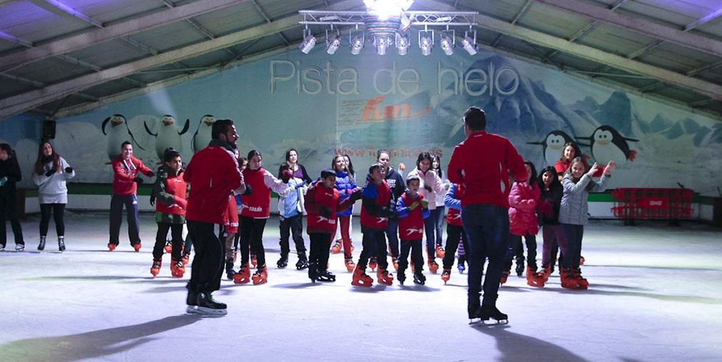 Escuelas de verano en Valencia - Fun on Ice