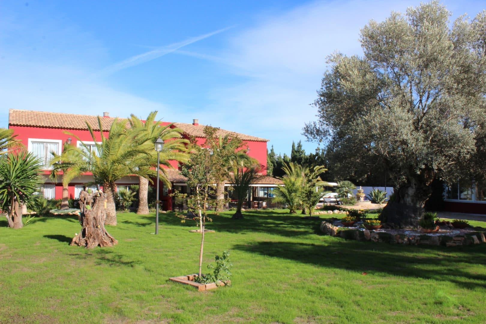 Restaurante Resort Mas Camarena. Comer con niños en Valencia