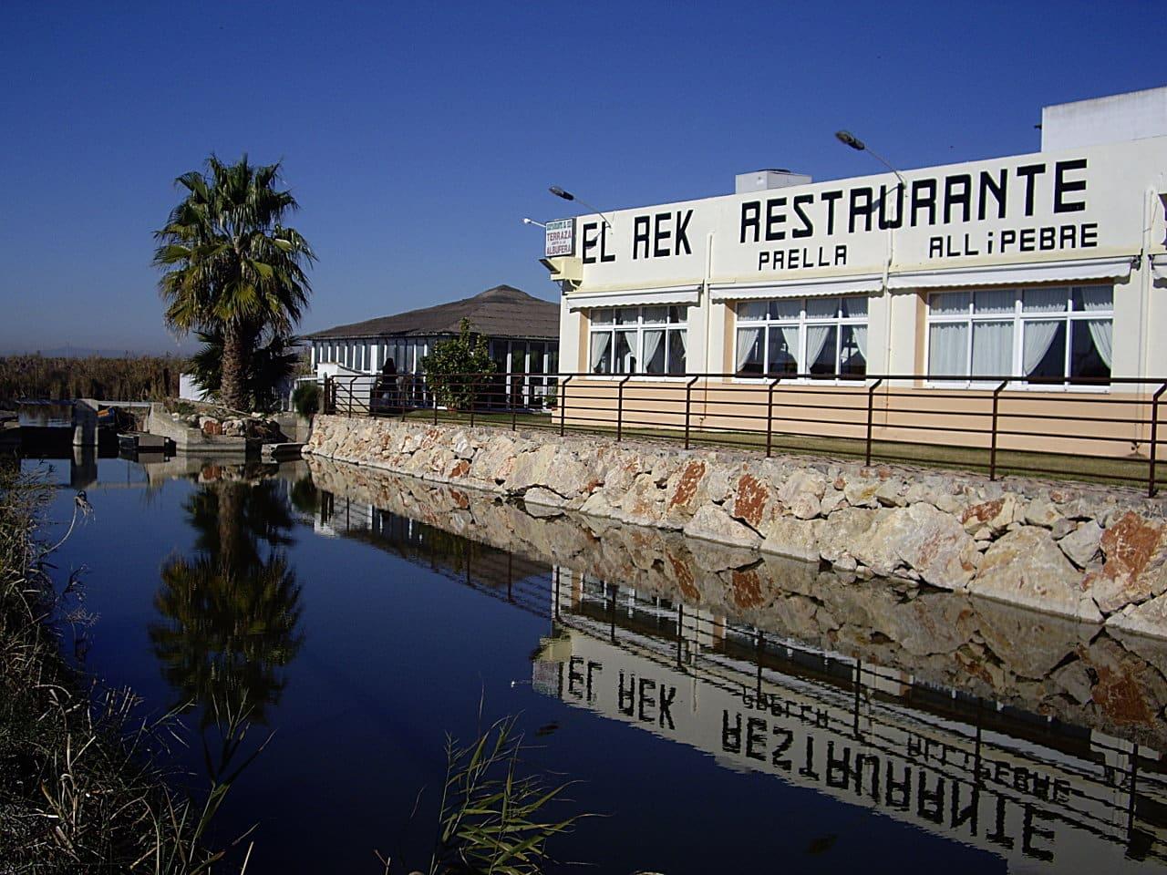 Restaurante El Rek. El Palmar. Comer con niños en Valencia