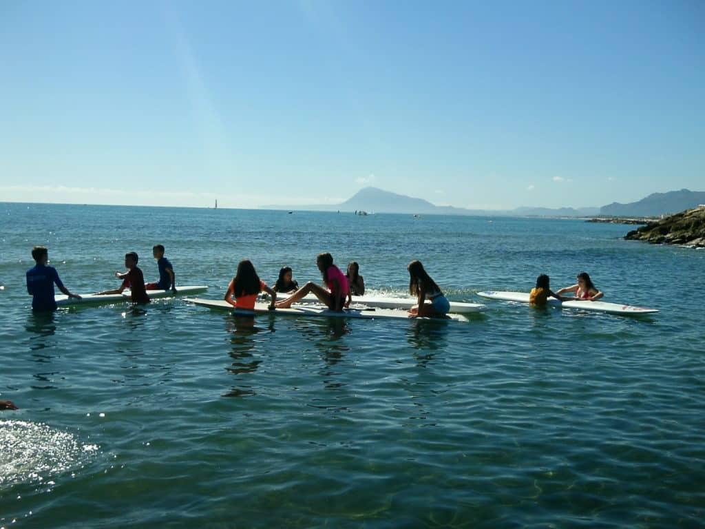 campamentos de verano - Campamento nautico Oliva