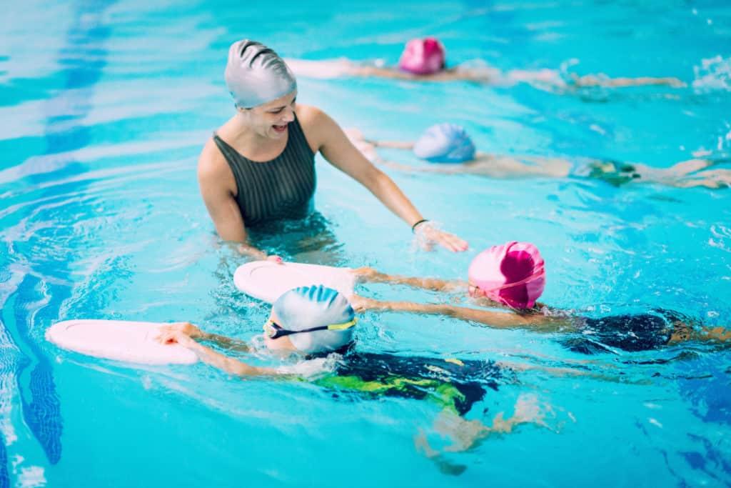 Clases de natación para niños en Valencia